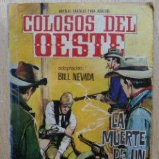 Tebeos: COLOSOS DEL OESTE - Nº 79, LA MUERTE DE UN SHERIFF - ED. FERMA. Lote 177572728
