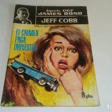 Tebeos: NOVELAS GRAFICAS - AGENTE 007 JAMES BOND Nº 4: EL CRIMEN PAGA IMPUESTOS - EDITORIAL FERMA 1965. Lote 177665262