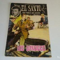 Livros de Banda Desenhada: NOVELAS GRAFICAS - EL SANTO Nº 6: LOS BANDIDOS - EDITORIAL FERMA 1965. Lote 177666032