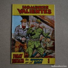 Tebeos: HOMBRES VALIENTES. TOMMY BATALLA, Nº 9. FERMA. LITERACOMIC. C2. Lote 177797574