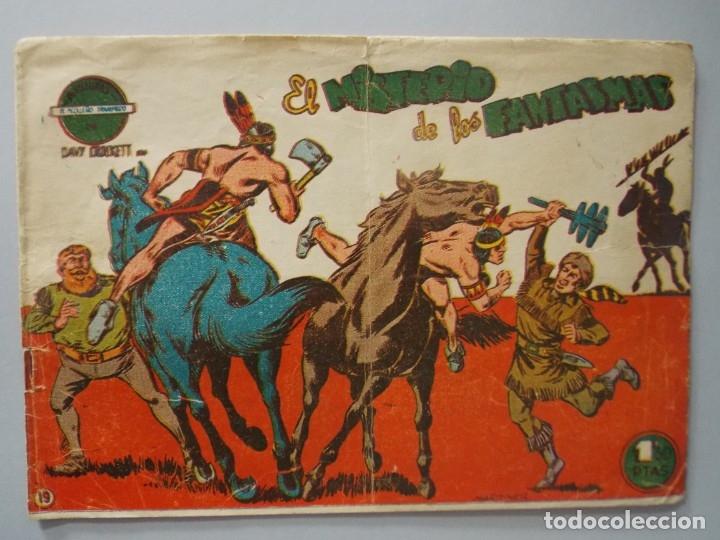 COMIC - DAVY CROCKETT - Nº 19 , EL MISTERIO DE LOS FANTASMAS - FERMA , AÑO 1959 - ORIGINAL .. L398 (Tebeos y Comics - Ferma - Otros)