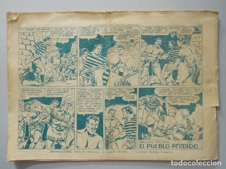 Tebeos: COMIC - DAVY CROCKETT - Nº 19 , EL MISTERIO DE LOS FANTASMAS - FERMA , AÑO 1959 - ORIGINAL .. L398 - Foto 5 - 178337853