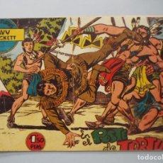 Tebeos: COMIC - DAVY CROCKETT - Nº 14 , EN EL POSTE DE TORTURA - FERMA , AÑO 1959 - ORIGINAL .. L399. Lote 178338857