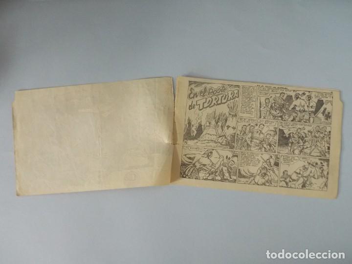 Tebeos: COMIC - DAVY CROCKETT - Nº 14 , EN EL POSTE DE TORTURA - FERMA , AÑO 1959 - ORIGINAL .. L399 - Foto 2 - 178338857
