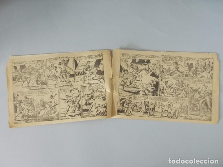 Tebeos: COMIC - DAVY CROCKETT - Nº 14 , EN EL POSTE DE TORTURA - FERMA , AÑO 1959 - ORIGINAL .. L399 - Foto 3 - 178338857