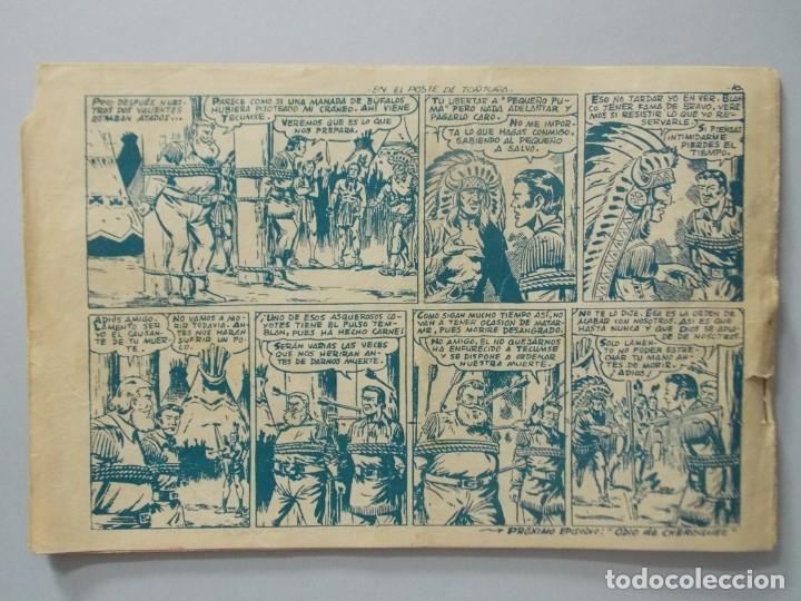 Tebeos: COMIC - DAVY CROCKETT - Nº 14 , EN EL POSTE DE TORTURA - FERMA , AÑO 1959 - ORIGINAL .. L399 - Foto 5 - 178338857