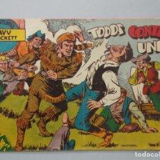 Tebeos: COMIC - DAVY CROCKETT - Nº 17 , TODOS CONTRA UNO - FERMA , AÑO 1959 - ORIGINAL .. L400. Lote 178339086