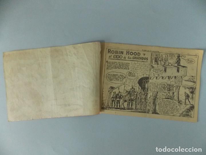 Tebeos: COMIC - ROBIN HOOD - Nº 21 , EL ORO DE LOS CRUZADOS - FERMA , AÑO 1958 - ULTIMO, ORIGINAL .. L401 - Foto 2 - 178341251