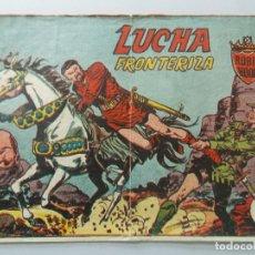 Tebeos: COMIC - ROBIN HOOD - Nº 9 , LUCHA FRONTERIZA - FERMA , AÑO 1958 - ORIGINAL .. L402. Lote 178353882