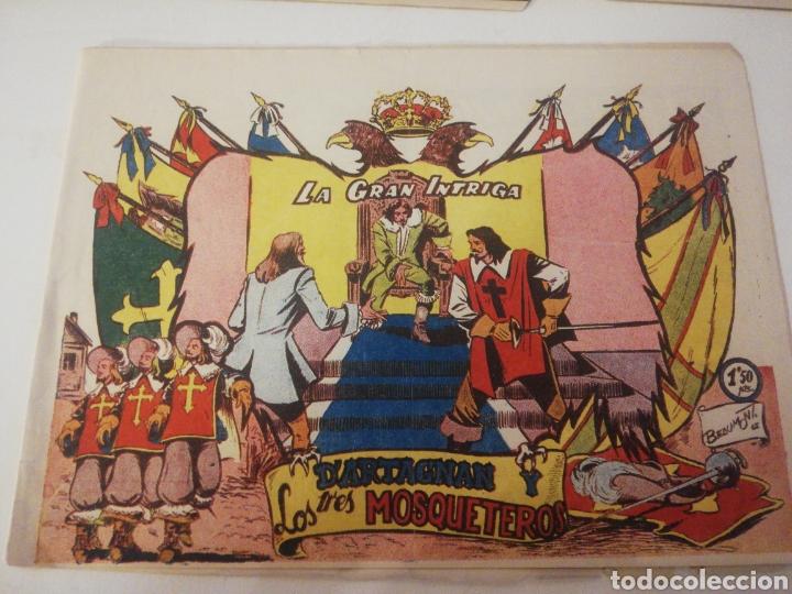 D'ARTAGNAN Y LOS TRES MOSQUETEROS N 10 (Tebeos y Comics - Ferma - Otros)