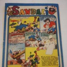 Tebeos: SANDALIO N 16 ORIGINAL. Lote 178861498
