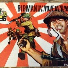 Tebeos: COMBATE , NUMERO 8 , BIRMANIA : INFIERNO, 1963 ,EDITORIAL FERMA 31 PAGINAS. Lote 178933842