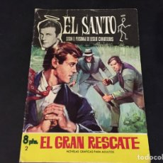 Tebeos: NOVELA GRAFICA COMIC EL SANTO EL GRAN RESCATE . Lote 179343606