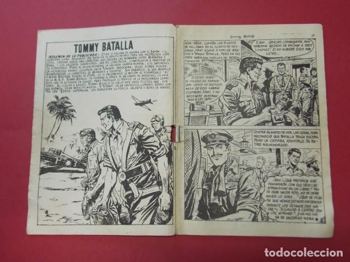 Tebeos: COMIC - HOMBRES VALIENTES , TOMMY BATALLA - Nº 14 , NUEVAS ALAS - ED. FERMA 1958 .. L441 - Foto 2 - 180011988