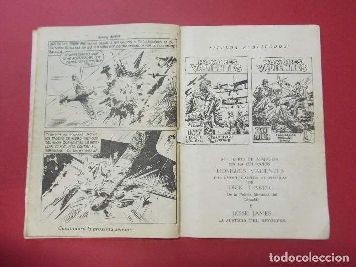 Tebeos: COMIC - HOMBRES VALIENTES , TOMMY BATALLA - Nº 14 , NUEVAS ALAS - ED. FERMA 1958 .. L441 - Foto 4 - 180011988