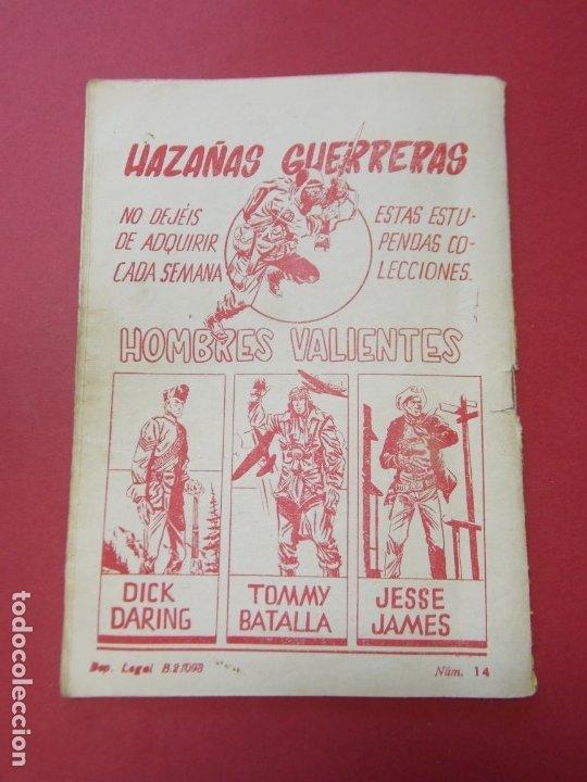 Tebeos: COMIC - HOMBRES VALIENTES , TOMMY BATALLA - Nº 14 , NUEVAS ALAS - ED. FERMA 1958 .. L441 - Foto 5 - 180011988