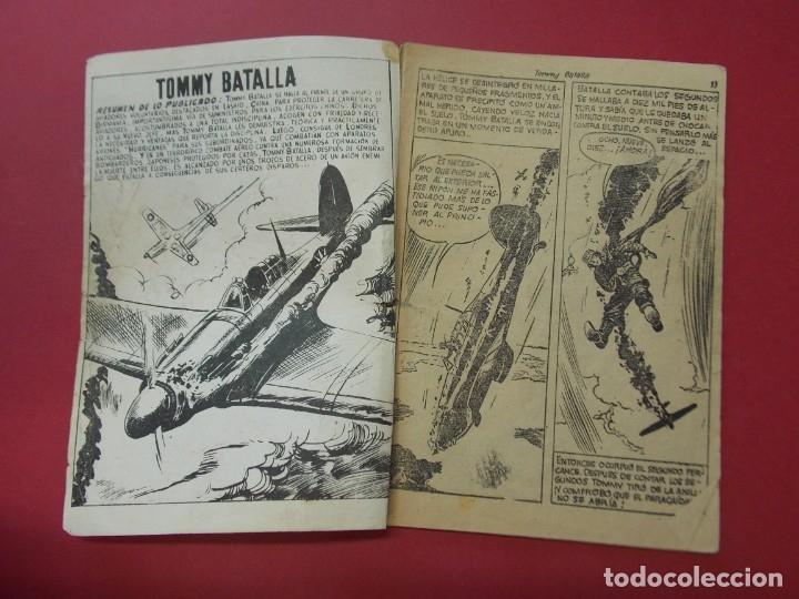 Tebeos: COMIC - HOMBRES VALIENTES , TOMMY BATALLA - Nº 15 , BATALLA ATACA SOLO - ED. FERMA 1958 .. L442 - Foto 2 - 180015185