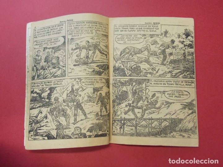 Tebeos: COMIC - HOMBRES VALIENTES , TOMMY BATALLA - Nº 15 , BATALLA ATACA SOLO - ED. FERMA 1958 .. L442 - Foto 3 - 180015185