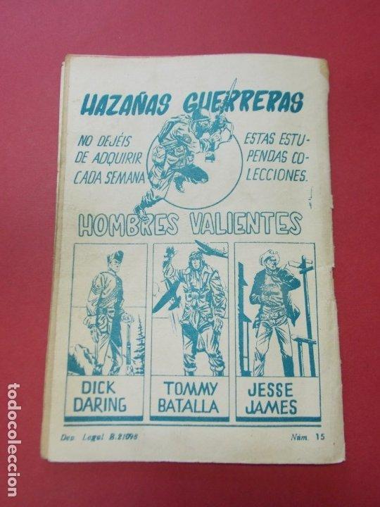 Tebeos: COMIC - HOMBRES VALIENTES , TOMMY BATALLA - Nº 15 , BATALLA ATACA SOLO - ED. FERMA 1958 .. L442 - Foto 5 - 180015185