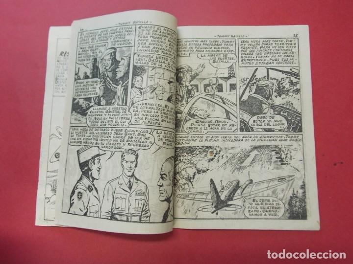 Tebeos: COMIC - HOMBRES VALIENTES , TOMMY BATALLA - Nº 22 , EL MAQUIS - ED. FERMA 1958 .. L443 - Foto 3 - 180015568