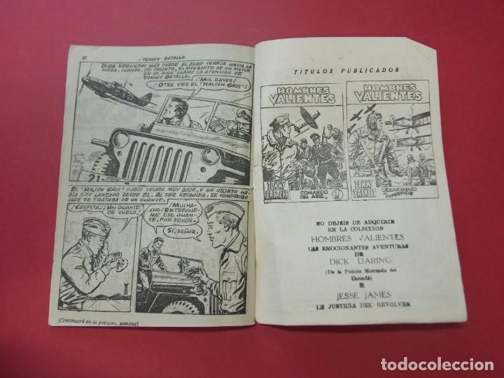 Tebeos: COMIC - HOMBRES VALIENTES , TOMMY BATALLA - Nº 22 , EL MAQUIS - ED. FERMA 1958 .. L443 - Foto 4 - 180015568