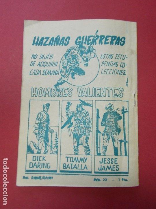Tebeos: COMIC - HOMBRES VALIENTES , TOMMY BATALLA - Nº 22 , EL MAQUIS - ED. FERMA 1958 .. L443 - Foto 5 - 180015568