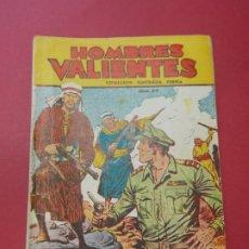 Tebeos: COMIC - HOMBRES VALIENTES , TOMMY BATALLA - Nº 24, PETROLEO INCENDIADO - FERMA 1958 . L444. Lote 180016652