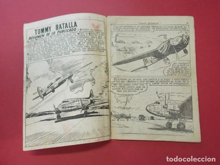 Tebeos: COMIC - HOMBRES VALIENTES , TOMMY BATALLA - Nº 24, PETROLEO INCENDIADO - FERMA 1958 . L444 - Foto 2 - 180016652