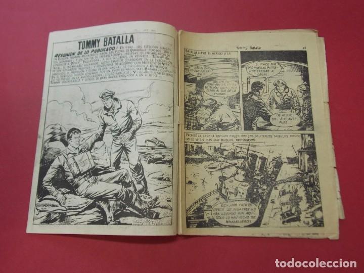 Tebeos: COMIC - HOMBRES VALIENTES , TOMMY BATALLA - Nº 28 , EL GRAN RESCATE - FERMA 1958 . L445 - Foto 2 - 180031890