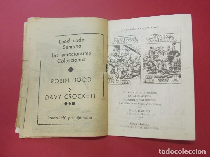 Tebeos: COMIC - HOMBRES VALIENTES , TOMMY BATALLA - Nº 28 , EL GRAN RESCATE - FERMA 1958 . L445 - Foto 4 - 180031890