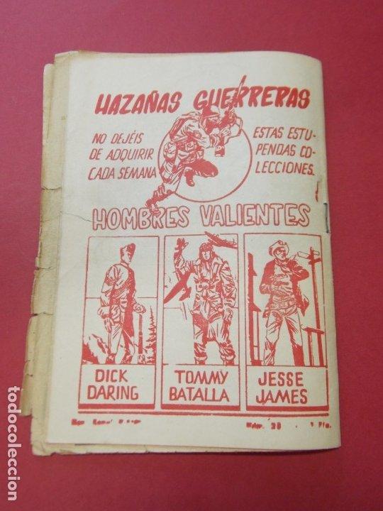 Tebeos: COMIC - HOMBRES VALIENTES , TOMMY BATALLA - Nº 28 , EL GRAN RESCATE - FERMA 1958 . L445 - Foto 5 - 180031890