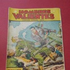 Tebeos: COMIC - HOMBRES VALIENTES , TOMMY BATALLA - Nº 24 , CONTRA LOS TANQUES - FERMA 1958 . L446. Lote 180032183