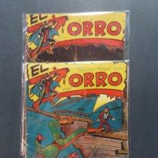 Tebeos: EL ZORRO NUMERO 1 Y 21-FERMA-ORIGINALES. Lote 180109452