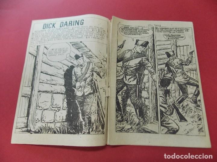 Tebeos: COMIC - HOMBRES VALIENTES, DICK DARING - Nº 15, EL LADRON DE CABALLOS INDIO - FERMA 1958 - L452 - Foto 2 - 180457495