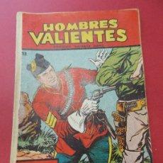 Tebeos: COMIC - HOMBRES VALIENTES, DICK DARING - Nº 22, LA PIEL DELATORA - FERMA 1958 - L454. Lote 180458737