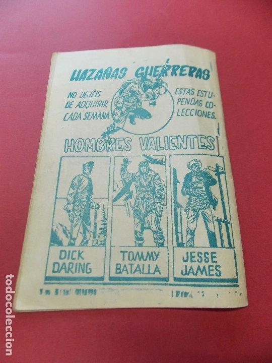 Tebeos: COMIC - HOMBRES VALIENTES, DICK DARING - Nº 22, LA PIEL DELATORA - FERMA 1958 - L454 - Foto 5 - 180458737