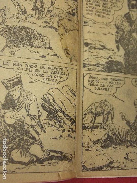 Tebeos: COMIC - HOMBRES VALIENTES, DICK DARING - Nº 22, LA PIEL DELATORA - FERMA 1958 - L454 - Foto 6 - 180458737