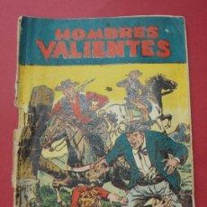 Tebeos: COMIC - HOMBRES VALIENTES, JESSE JAMES - Nº 1, EL SUR SE RECUPERA - 1958 - ORIGINAL ... L457. Lote 180838253