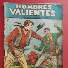 Tebeos: COMIC - HOMBRES VALIENTES, JESSE JAMES - Nº 7, LA FUGA - 1958 - ORIGINAL ... L458. Lote 180847268