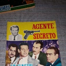 Tebeos: AGENTE SECRETO. Nº 18. FERMA 1966. Lote 180920205