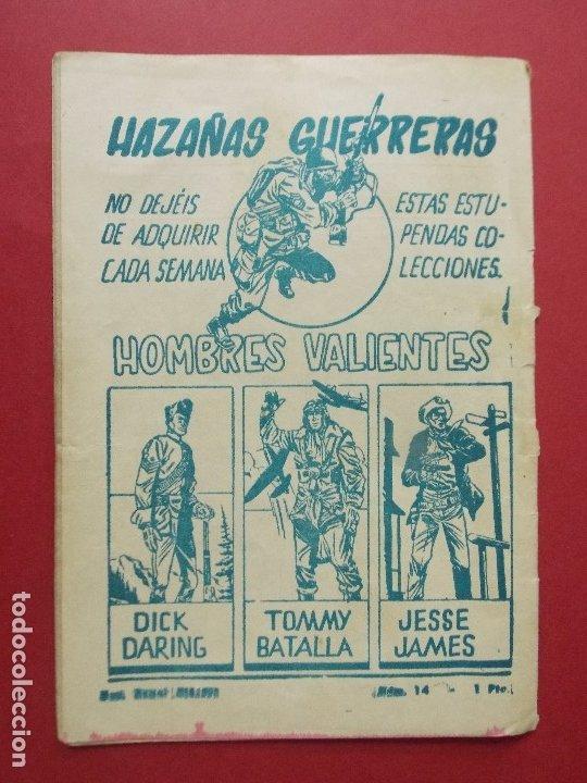 Tebeos: COMIC - HOMBRES VALIENTES, BILL HICKOK - Nº 16, EL HOMBRE DE LA CHARCA - 1958 - ORIGINAL ... L462 - Foto 5 - 181007015