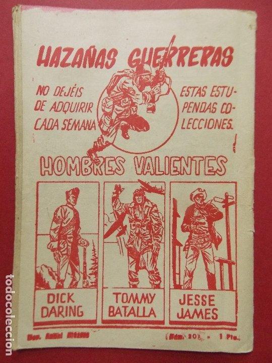 Tebeos: COMIC - HOMBRES VALIENTES, KIT CARSON - Nº 20, CERCO COMANCHE - 1958 - ORIGINAL ... L463 - Foto 5 - 181010208