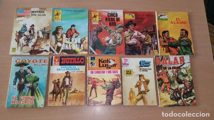 LOTE 10 COMICS DEL OESTE SILVER KANE BUFALO FERMA BRUGUERA (Tebeos y Comics - Ferma - Gran Oeste)