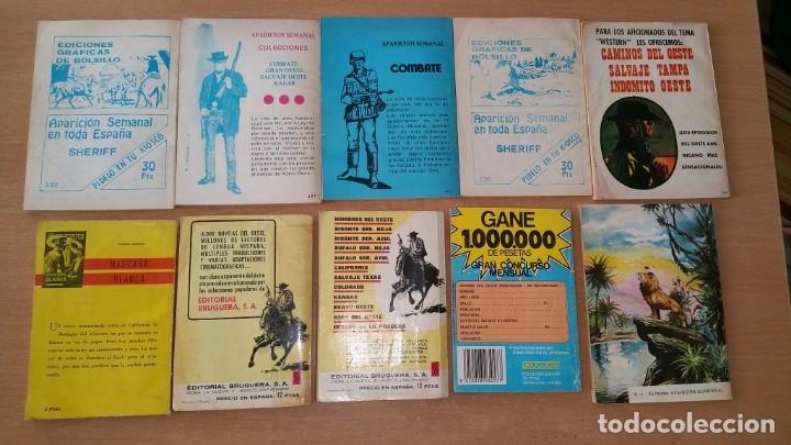 Tebeos: Lote 10 comics del oeste Silver Kane Bufalo Ferma Bruguera - Foto 2 - 181123355