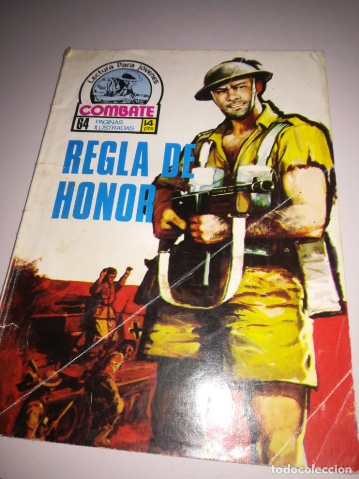 REGLA DE HONOR. COMBATE 64 PAGINAS ILUSTRADAS. REF. GAR 105 (Tebeos y Comics - Ferma - Combate)