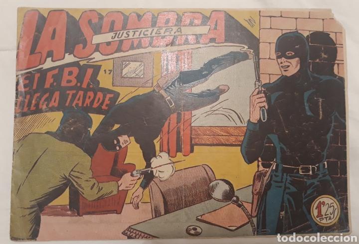 COMIC LA SOMBRA JUSTICIERA N°17 EL FBI LLEGA TARDE FERMA 1954 (Tebeos y Comics - Ferma - Otros)