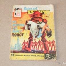 Tebeos: RUTAS DEL ESPACIO Nº 9: EL MISTERIO DEL MUNDO ROBOT - EDITORIAL FERMA. Lote 181516392