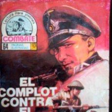 Tebeos: COMBATE-NOVELA GRÁFICA- Nº 81 - EL COMPLOT CONTRA EL FÜHRER-1977-MUY RARO-ESCASO-CORRECTO-2280. Lote 181611286
