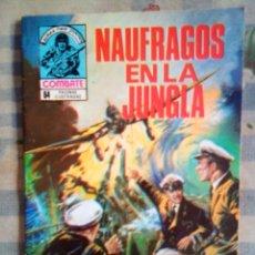 Tebeos: COMBATE-NOVELA GRÁFICA SEMANAL- Nº 159 -NAUFRAGOS EN LA JUNGLA- MUY DIFÍCIL-1979-BUENO-LEAN-2285. Lote 181627190