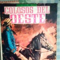 Tebeos: COLOSOS DEL OESTE- Nº 111 -¡VENGANZA!- GRAN ALFONSO FONT- 1966- MUY RARO Y ESCASO- LEAN- 2306. Lote 182015186